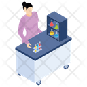 Chemical Testing Lab Experiment Laboratory Test Icon