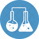 Chemical Testing Experiment Chemical Research Icon