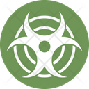 Chemical Toxic Biohazard Nuclear Decay Icon