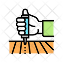 Chemical Field Treatment Icon