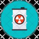 Radioactive Waste Nuclear Waste Waste Disposal Icon