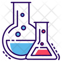 Chemicals Lab Practical Chemistry Icon