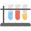 Chemicals Test Tubes Icon