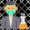Chemist Avatar Mask Icon