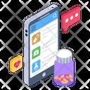 Online Medicines Chemist App Online Pharmacy Icon