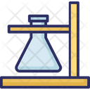 Chemistry Experiment Lab Flask Icon