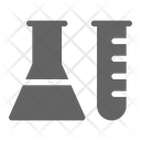 Chemistry Science Experiment Icon