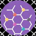 Cyclooctane Structure Molecular Icon