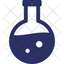 Chemistry Experiment Flask Flask Icon