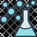Chemistry Atomic Chemical Formula Patholology Laboratory Pharmaceutical Test Tube Testing Beaker Icon