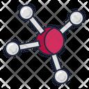 Chemistry Molecule Atom Icon