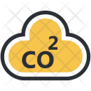Chemistry Cloud Oxygen Icon