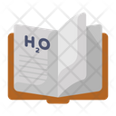 Chemistry Book Study Novel Icon