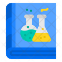 Chemistry Book Chemical Knowledge Chemistry Education Icon