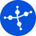 Chemistry Compound Atom Bond Atom Compound Icon