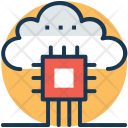 Cloud Based Services Icon