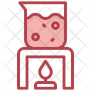 Chemistry Experiment Laboratory Equipment Science Experiment Icon