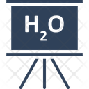 Chemistry Formula Chemistry Of Water H 2 O Icon