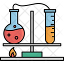 Chemistry Lab Chemical Lab Clinical Research Icon