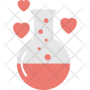 Chemistry Love Red Icon