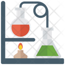 Chemistry Practical Lab Equipment Chemistry Experiment Icon