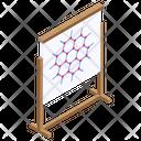 Molecule Structure Molecular Network Cell Bonding Icon
