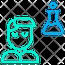 Chemistry Student Boy Icon