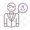 Chemistry Teacher Chemistry Experiment Icon