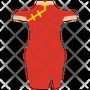 Cheongsam Female Chinese Dress Icon