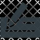 Cheque Receipt Voucher Icon