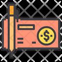 Check Cash Bank Cheque Icon