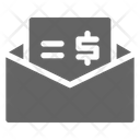 Cheque Envelope Payment Icon