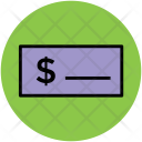 Cheque Bank Slip Icon
