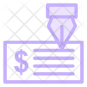 Cheque Check Payment Icon