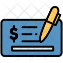 Cheque Card Ecommerce Icon