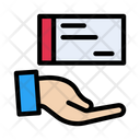 Cheque Payment Shopping Icon