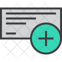 Cheque Clerance Payment Icon