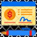 Cheque Money Sign Icon
