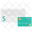 Cheque Cheque Payment Card Payment Icon