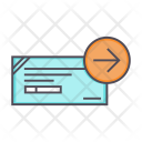 Cheque Proceed Process Icon