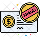 Cheque Fraud Cheque Fraud Cheque Icon