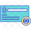 Cheque Fraud Icon