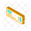 Payment Check Isometric Icon
