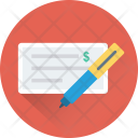 Cheque Signature Icon