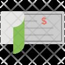 Checkbook Chequebook Bill Icon