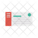 Chequebook Payment Bank Icon