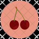 Cherries Fruit Healthy Icon
