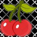 Cherries Fruit Fresh Cherries Icon