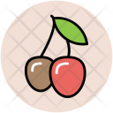 Cherries Food Fruit Icon