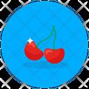 Cherries Fruit Healthy Food Icon